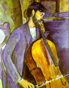 Modigliani_–_Cello_Player